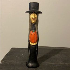 Kurt S Adler Wicked Witch Candlestick Holder